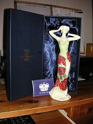 Old Tupton Ware TW2507 Passion Rose Lady Figurine brand new in box