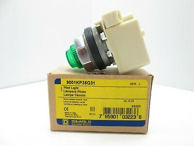 New square d clear pilot light transformer type 9001 type for 120 volt door jamb switch