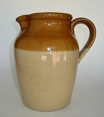 Vintage Pearson's of Chesterfield England Stoneware Jug 3 Pints Measure