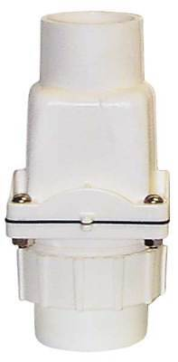 ZOELLER 30-0103 Check Valve with Union, PVC, 2 In.