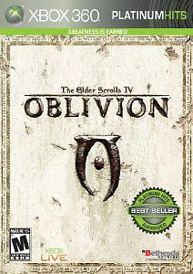 Microsoft XBox 360 Game THE ELDER SCROLLS IV: OBLIVION - Disc Only