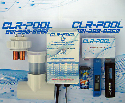 25K Gallon POOL/SPA COPPER IONIZERS TREATMENT OF YOUR POOL WATER