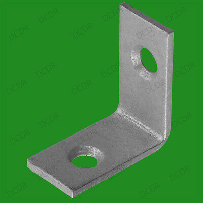 """100x 25mm (1"""") Corner Braces L Shaped Right Angle Support Fixing Repair Brackets"""