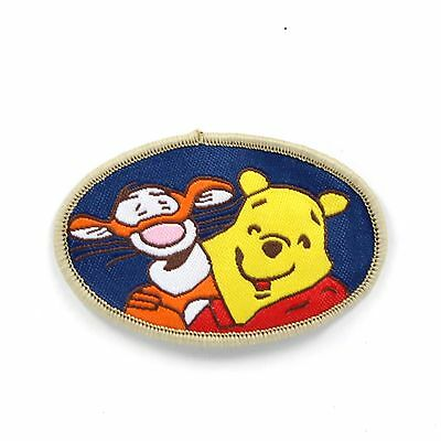 "Winnie the pooh and Tigger Embroidered Sew ON Patch Applique 2.4""X 1.5"""