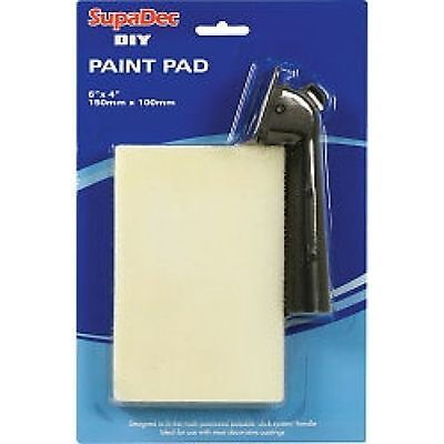 537129 SupaDec DIY Paint Pad & Handle 6 X 4 inch