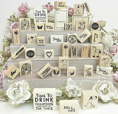 East Of India Rubber Stamps Christmas Weddings Gift Tags Special Occasions Craft