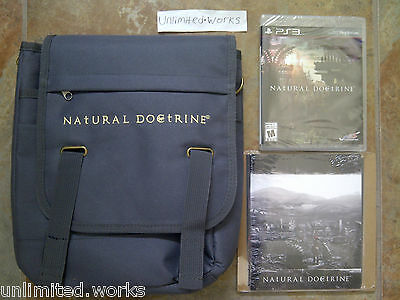 Natural Doctrine Limited Edition PS3 Sony PlayStation 3 Brand New and Sealed