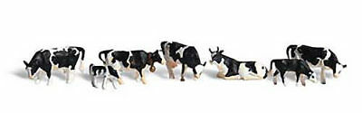 NEW Woodland Scenics Holstein Cows N A2187
