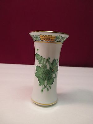HEREND CHINESE BOUQUET MINIATURE BUD VASE