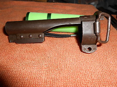 Early USGI M1 Carbine Bayonet Lug Barrel Band WWII WW2 Marked SI
