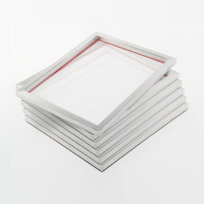 6 x Screen printing frames 61 51 cm 32T ink Alu-sieve for textile