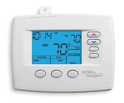 WHITE-RODGERS 1F85-0422 Low V T-Stat, Stages Heat 2, Stages Cool 2