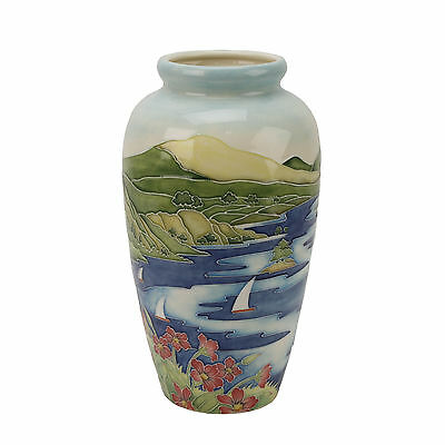 Old Tupton Ware TW7246 Lakeland  design Vase 11 inches in Gift Box  18967