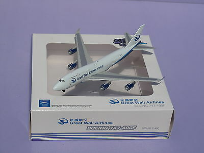 Great Wall Airliners B747-400F  1:400 Sky models