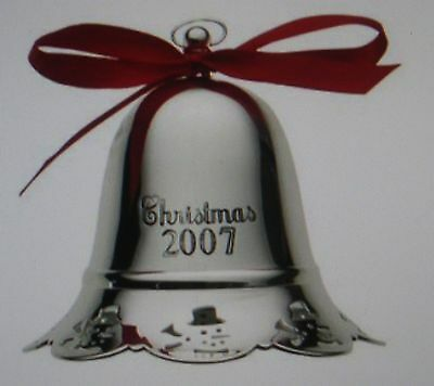 TOWLE American manufacturer of sterling silver-2007 Christmas bell musical 27th