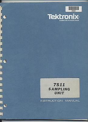 Tektronix 7S11 Sampling Unit Service Manual Loc.Tek 026