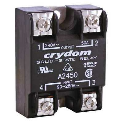 Solid State Relay,90 to 280VAC,75A CRYDOM A2475