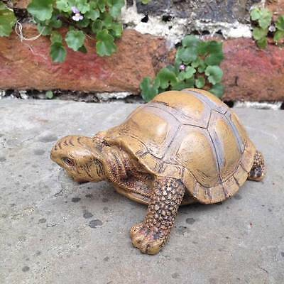 New Life Like Model Tortoise for the Garden, Home, Patio, Conservatory,Gift 14cm