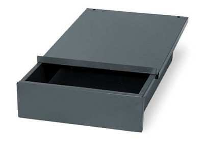 EDSAL WD1218 Drawer,12 W x 18 D x 4 in. H,Gray