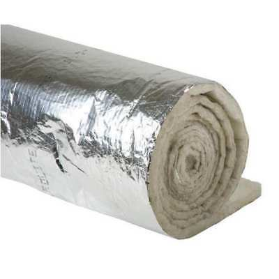 Johns Manville 670380 Duct Insulation, 1-1/2In X 48In X 25 Ft.