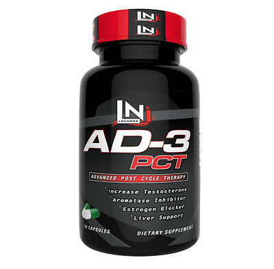 AD-3 PCT by LeCheek Nutrition - Best Post Cycle Therapy Supplement (60 Capsules)
