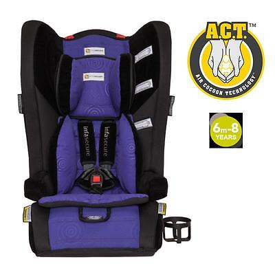 Covertible Booster Infant Kid Baby Car Seat Infa Comfi Caprice 6mth to 8 year PP