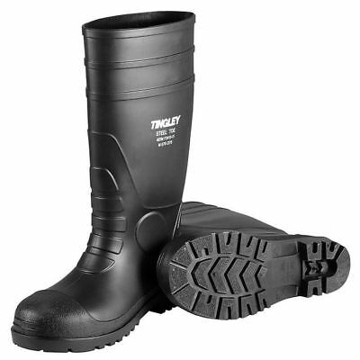 TINGLEY 31251 Oversock Boots, Mens, Size 11, Black, PR