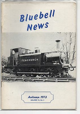 BLUEBELL NEWS, Volume 15, No. 3. Autumn 1973.