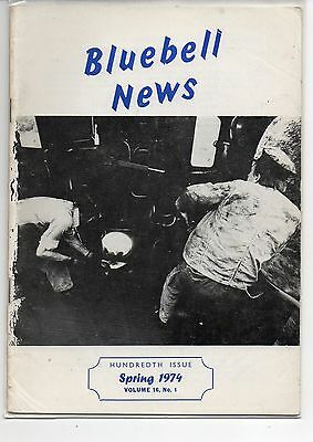 BLUEBELL NEWS, Volume 16, No. 1. Spring 1974.