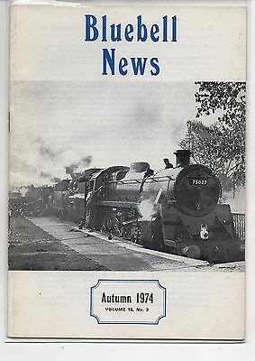 BLUEBELL NEWS, Volume 16, No. 3. Autumn 1974.