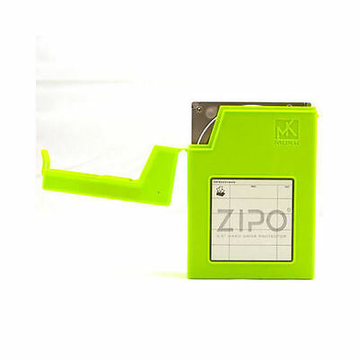 Mukii ZIO-P010-GR ZIPO  3.5inch HDD Protection Storage (Green)