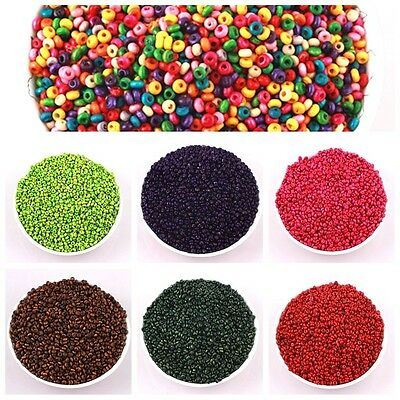 New800pcs 4mm Multicolor Wood Beads loose beads bare bead jewelry accessories