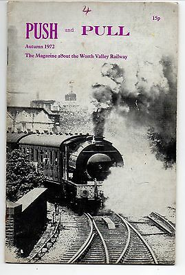 PUSH and PULL, Keighley & Worth Valley Railway. Autumn 1972.