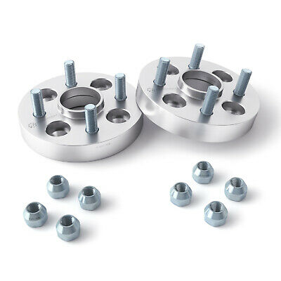"(2) 25mm (1"") Hubcentric Wheel Spacers 