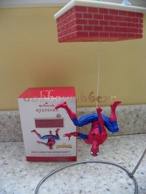 Hallmark 2013 Here Comes the Spider-Man Marvel Comics Christmas Ornament