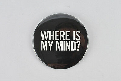 """The Pixies large badge! """"Where is my mind?"""" surfer rosa, fight club, nirvana"""