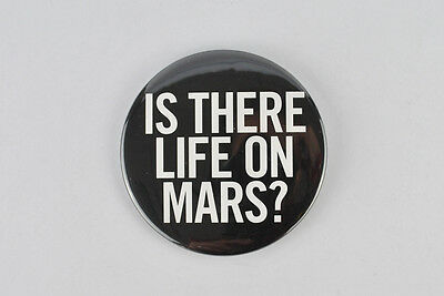 """David Bowie large button! """"Life on Mars"""" Hunky Dory , Berlin period, Brian Eno"""