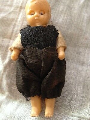 "Vintage '40's Era 3"" Celluloid Doll Google Eyes That Move Side To Side & Up Down"