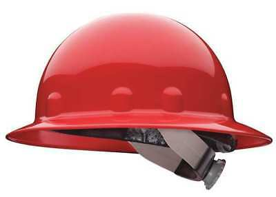 FIBRE-METAL BY HONEYWELL E1RW15A000 Hard Hat,Full Brim,E/G/C,Ratchet,Red