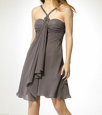 NWT CACHE Sequined Underlay Evening Cocktail Party Sexy Dress  2 6 8 10 (S M L)