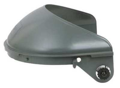 FIBRE-METAL BY HONEYWELL F4400 Faceshield Headgear,For Hard Hat,Plastic