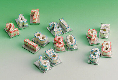 Dolls House Miniature 1//12th Scale Number Birthday Cake Various to Choose From