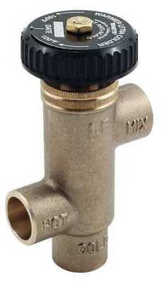 WATTS 1/2 LF70A-F Mixing Valve,Lead Free Brass