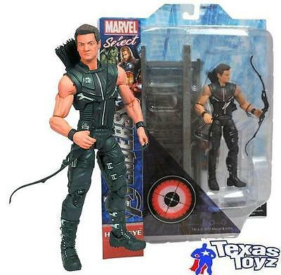 "Marvel Select Avengers Movie Hawkeye 7"" Action Figure DST Toys"
