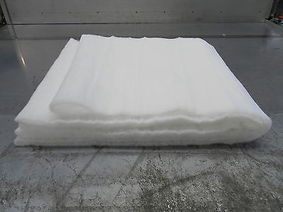 50mtr Meters Roll Fake Snow Christmas Santa Grotto nativity soft white blanket