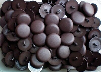 23mm 36L Dark Chocolate Brown Shank Buttons Sewing Knitting Craft Cardigan CC4