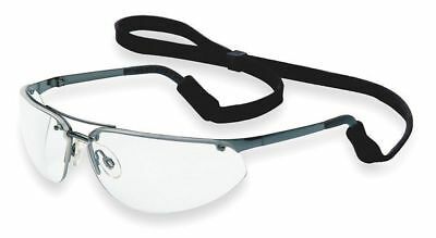 NORTH BY HONEYWELL 11150800 Safety Glasses, Clear, Scratch-Resistant