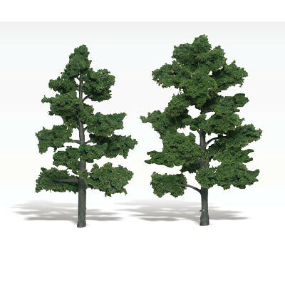 NEW Woodland Scenics Assembled Tree Medium Green 7  TR1516