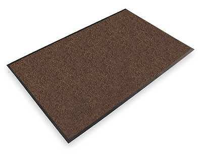NOTRAX 130S0035BR Carpeted Entrance Mat, Dk Brown, 3 x 5 ft.