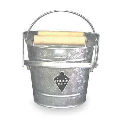 TOUGH GUY 2MPE1 Mop Bucket and Wringer, 12 qt., Silver